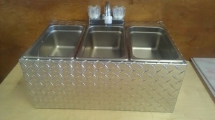 Ultimate Hot Dog Cart Product Page Concession Sink And