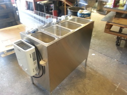 Ultimate Hot Dog Cart Product Page Concession Sink